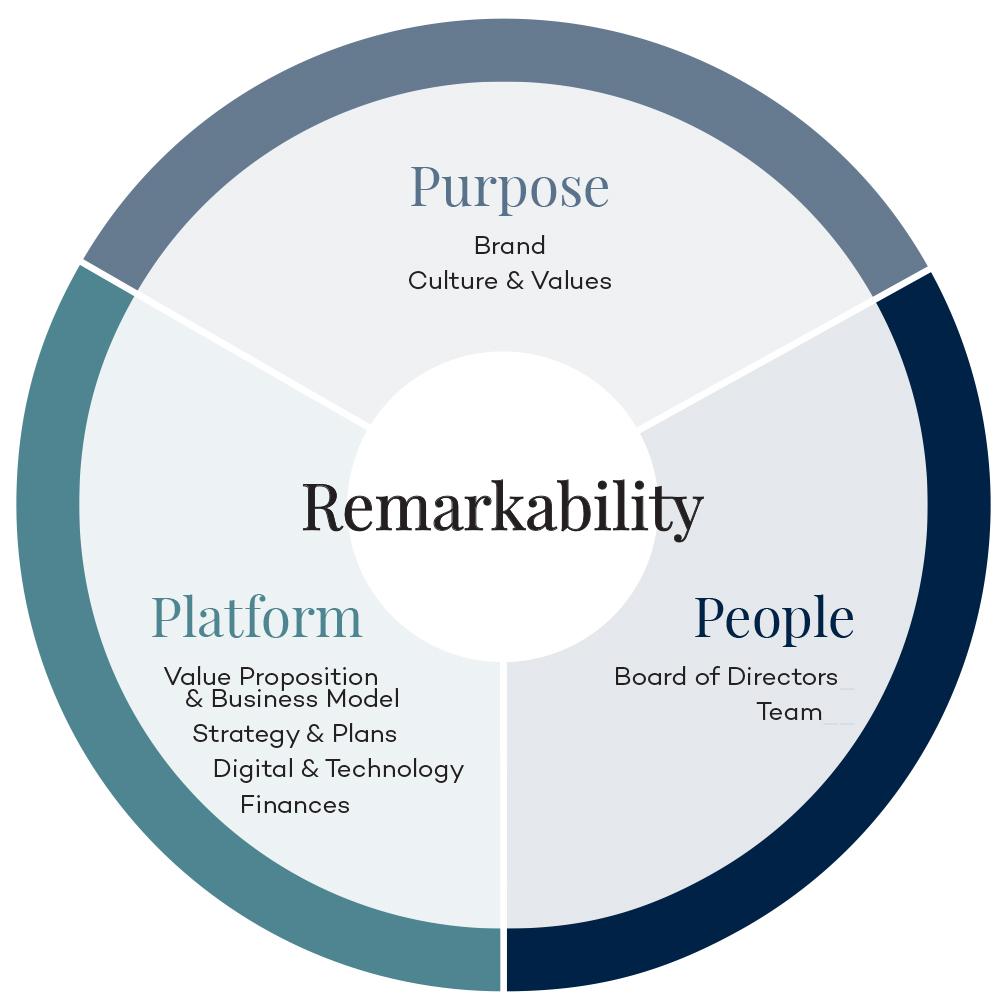 Remarkability Diagram: Purpose, Platform & People