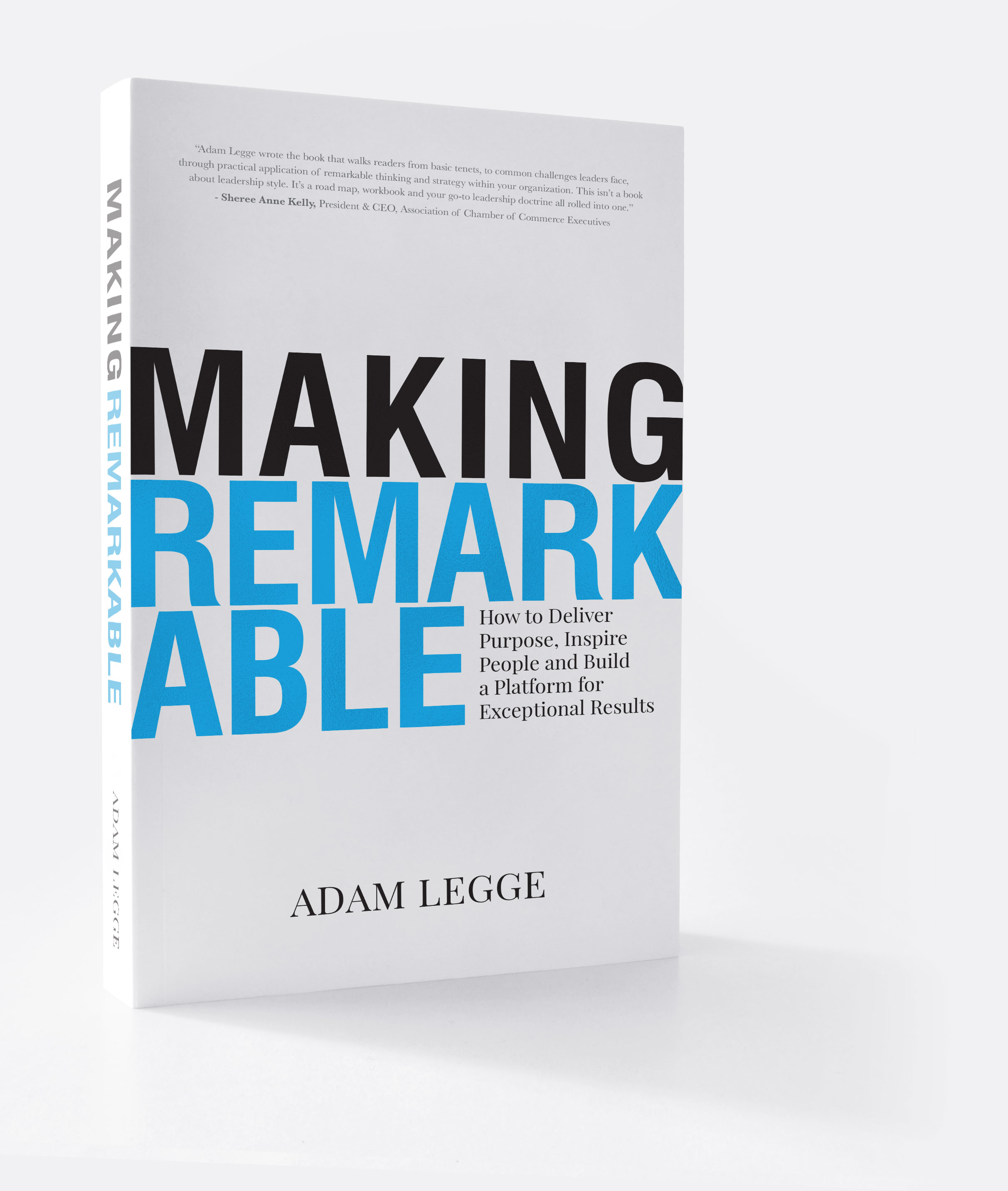 Making Remarkable by Adam Legge